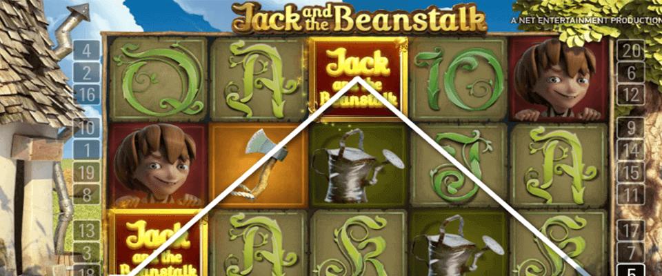 Jack og bønnestengelen spielautomat